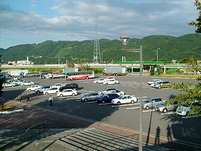 梓川パーキングエリア