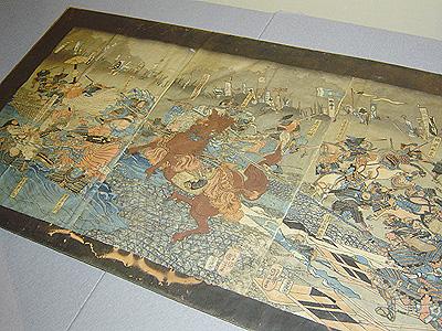 信州川中島大合戦之図