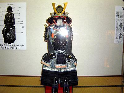 真田宝物館内