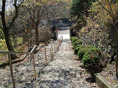大峰城階段
